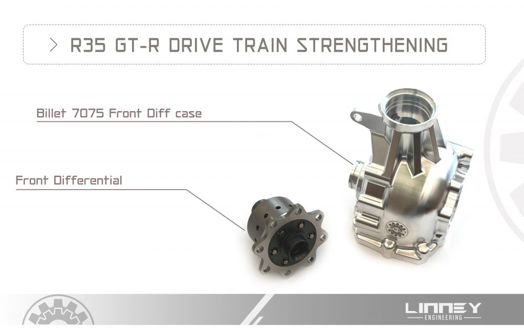 R35 GT-R DRIVE TRAIN STRENGTHENING (1)