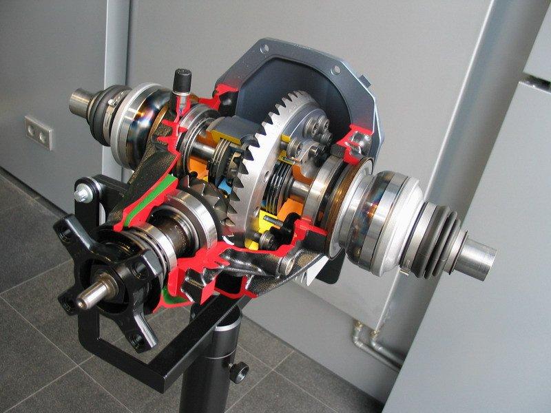 quaife front differential
