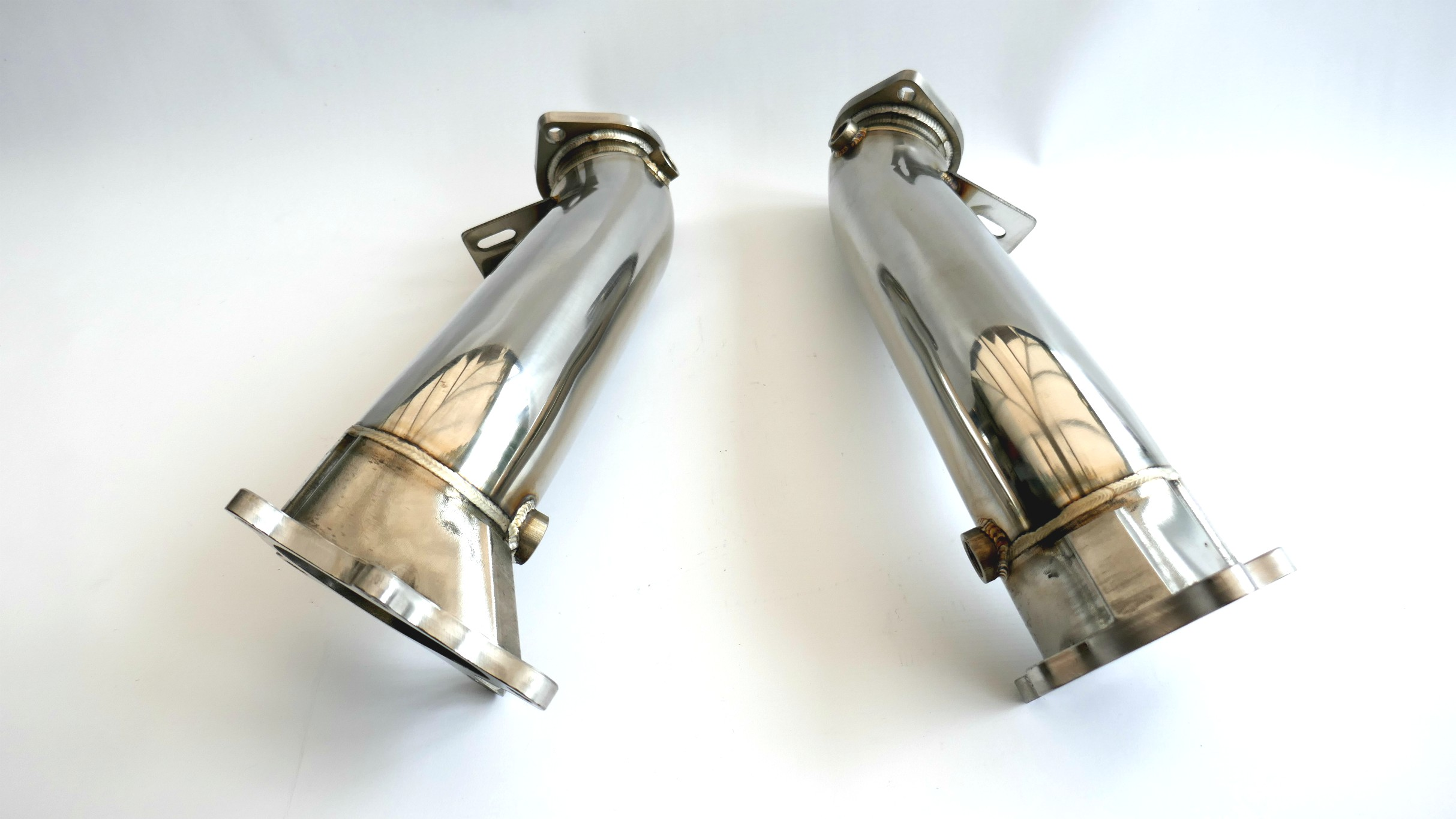 billet steel  mm downpipes