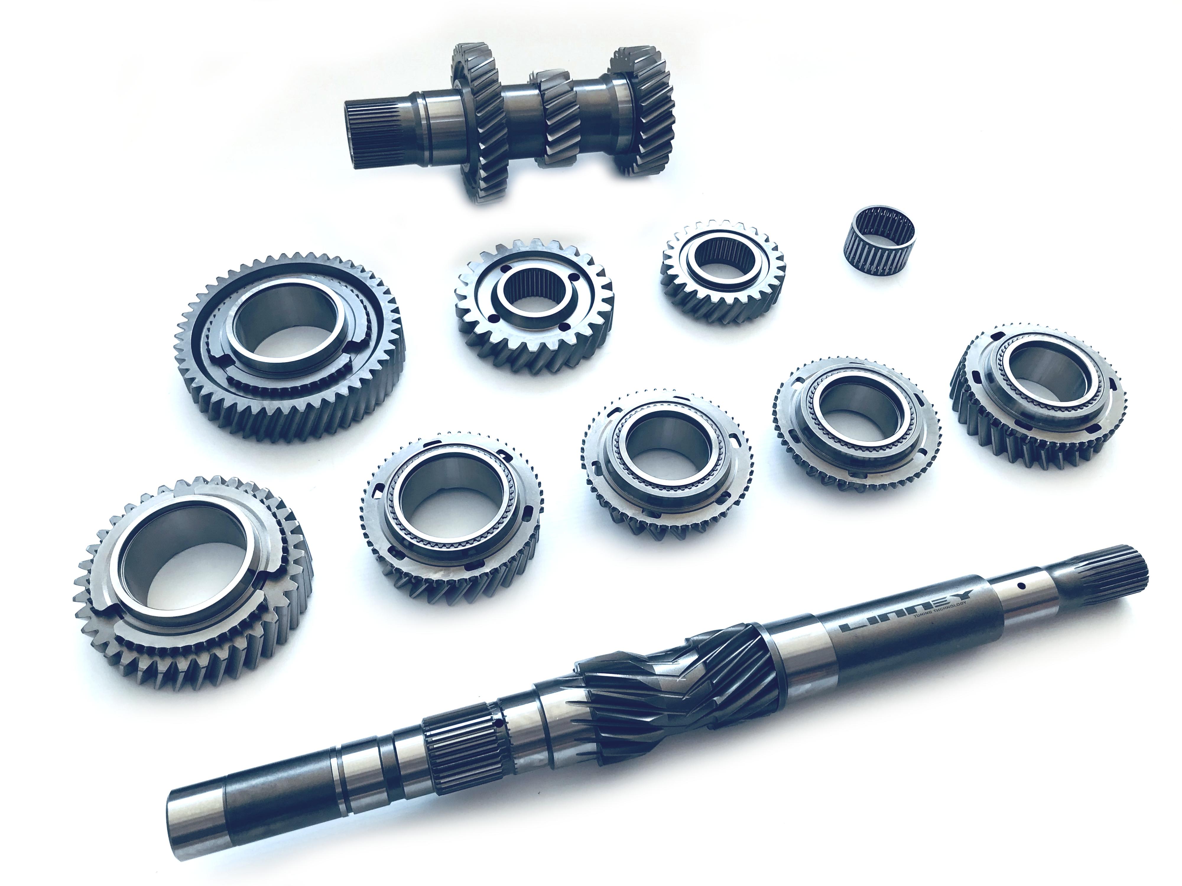 1-6 gears